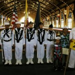 Basic - Color Guard at Graduation
