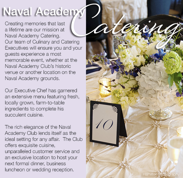 Naval Academy Catering Flowers