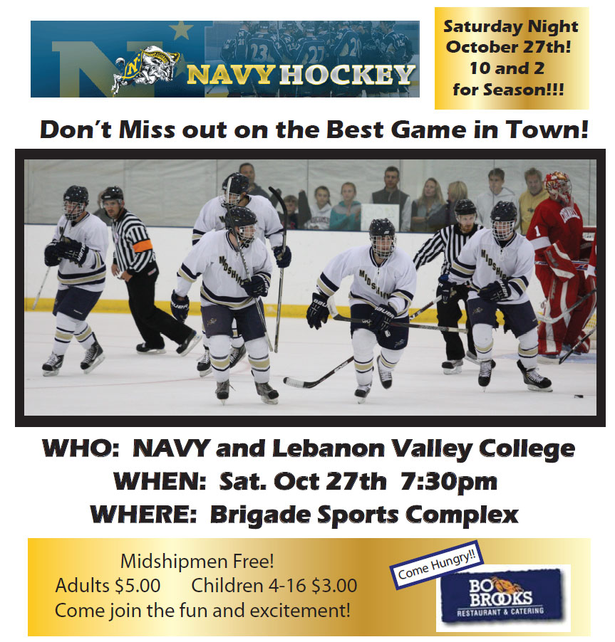 Navy Hockey vs Lebanon Valley College